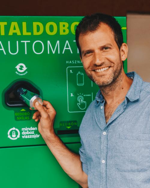 Fördős Zé kiáll a környezettudatosság mellett