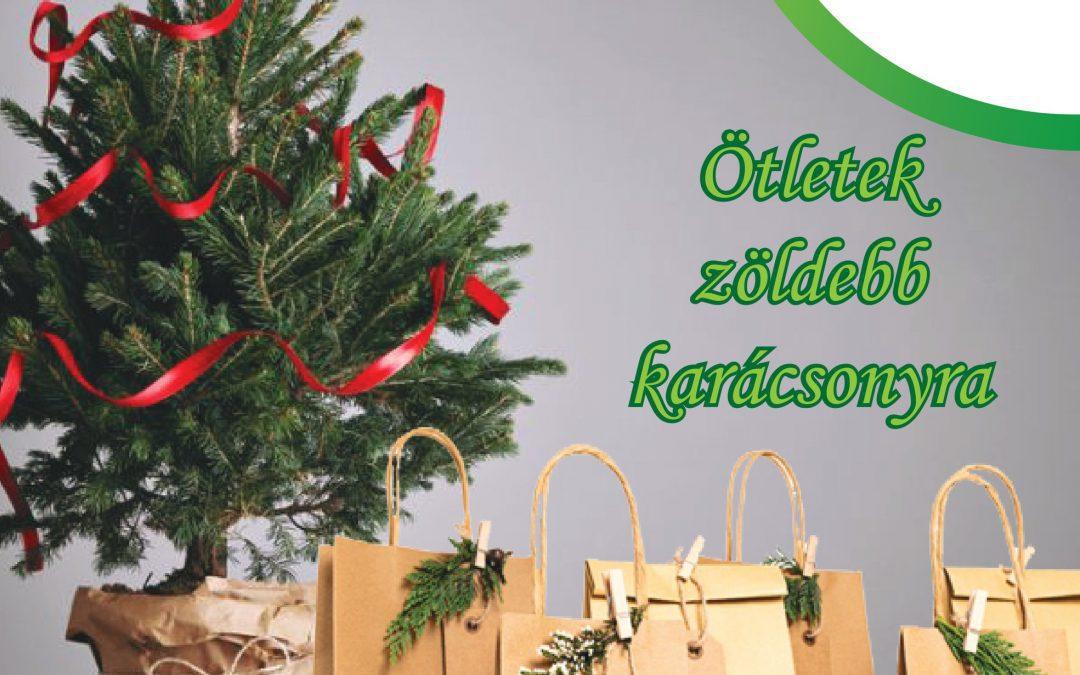 Ötletek egy zöldebb karácsonyhoz
