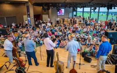 A Zöld Követ is jelen volt a Ringató és a családszervezetek jótékonysági napján