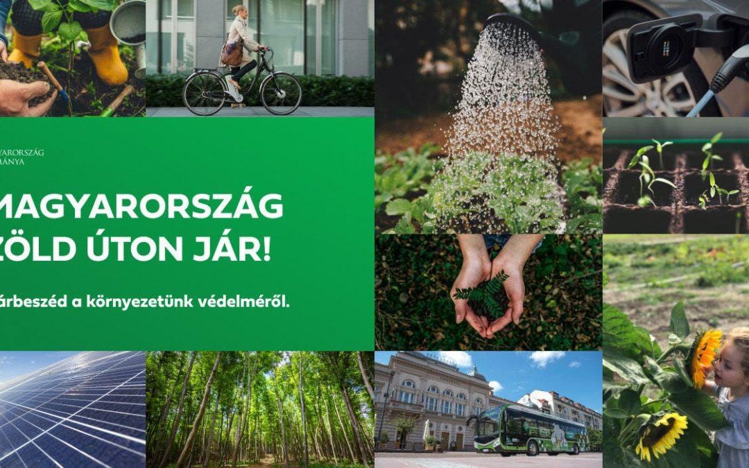Magyarország zöld úton jár! – online zöld felmérés